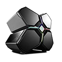 DEEPCOOL QUADSTELLAR Smart PC Case, Four Cabin Design, Auto-Open Front Panels, Smart Mobile Device APP Control, Customizable RGB Lighting System, E-ATX MB Supported, 3-Year Warranty