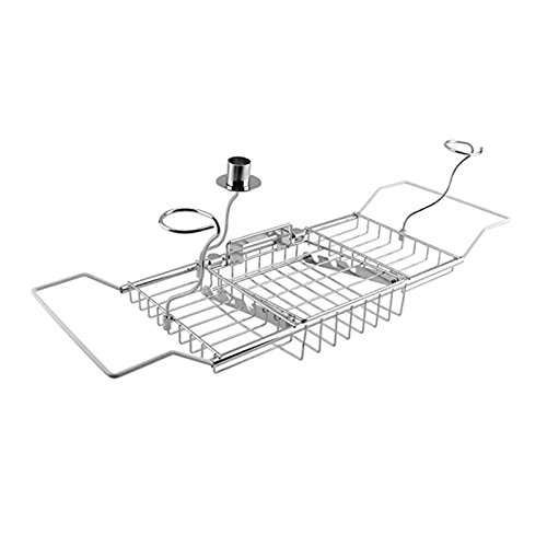 Peppermint. Storage Shelves & Racks - Over Bath Tub Racks Shower Organizer Bathtub Caddy Tray with Extending Sides - by GTIN - 1 Pcs - Ajustable Bathtub Tray - Bathtub Tray Marble