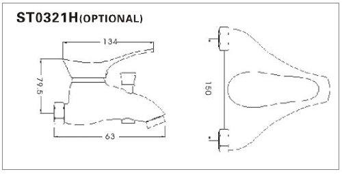 Design Bagno Rubinetto Set//lavabo e bidet rubinetto//miscelatore bagno