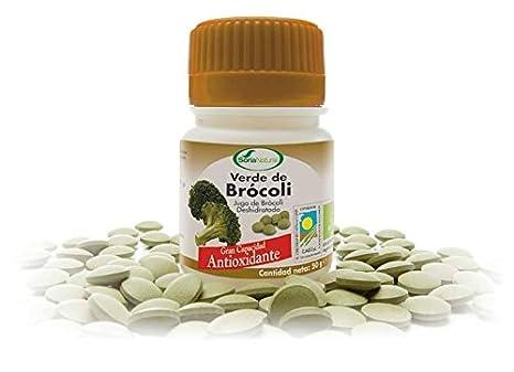 Soria Natural Verde Brócoli - 100 Tabletas: Amazon.es: Salud y cuidado personal