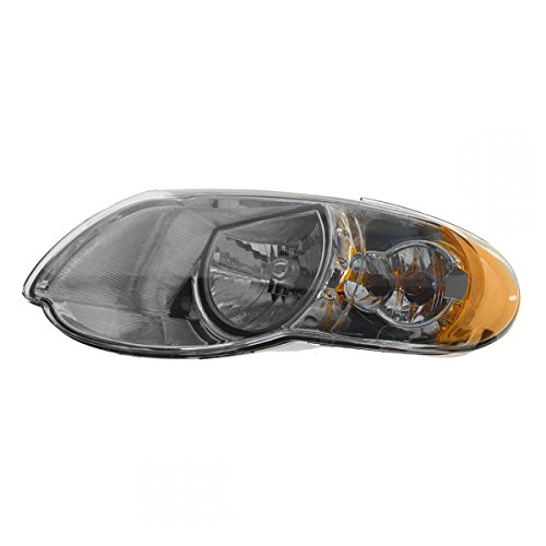 Headlight Headlamp Driver Side Left LH for 05-07 Chrysler Town & Country