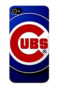 Guidepostee Case Cover Chicago Cubsbaseball (52) / Fashionable Case For Iphone 4/4s