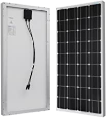 connecting solar panels together for increased power renogy 100 watts 12 volts monocrystalline solar panel