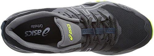 Homme 3 002 Asics Chaussures Multicolore de Neon Black Gel Lime Trail Sonoma RYYOag