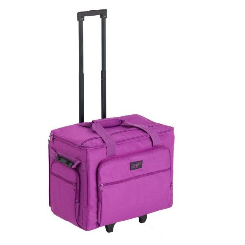 Creative Notions XL Sewing Machine Trolley in Purple by Creative notion