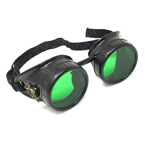 Steampunk Victorian Goggles Rave Glasses, Sleek and Stylish