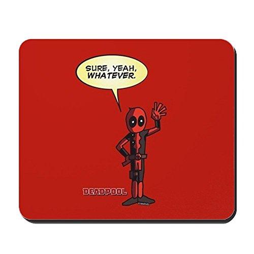 CafePress Deadpool Whatever Non-Slip Rubber Mousepad, Gaming Mouse