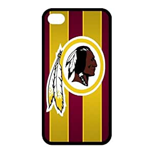 Custom Washington Redskins NFL Series Back Cover Case for iphone 4,4S JN4S-1397