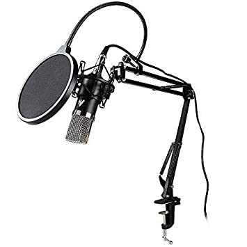 Maono AU-A03 Condenser Microphone Kit Podcast Mic with Boom