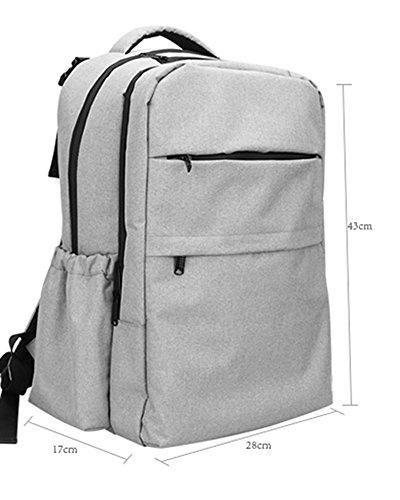 Mommy Bag Multi-funcional de alta capacidad a prueba de agua materna y niño bebé paquete de paquetes de viaje para ser producido ( Color : Rojo ) Negro