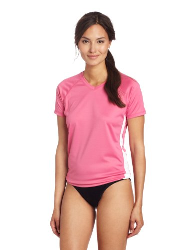 Kanu Surf Women's CB UPF 50+ Swim Tee, Pink, Small