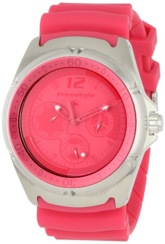Watch Dive Hammerhead (Freestyle Women's 'The Hammerhead LDS' Quartz Stainless Steel and Polyurethane Sport Watch, Color:Pink (Model: FS84942))