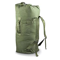 Military Outdoor Clothing Used Government Issue Cordura Duffle Bags, Olive Drab