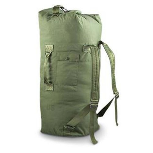 Us Bag (Military Outdoor Clothing Previously Issued U.S. G.I. Olive Drab Cordura Duffle)