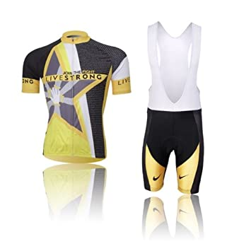 Leisure Bicycle Cycling Jerseys Short Sleeve Quick Dry Clothing Bib Shorts Sets