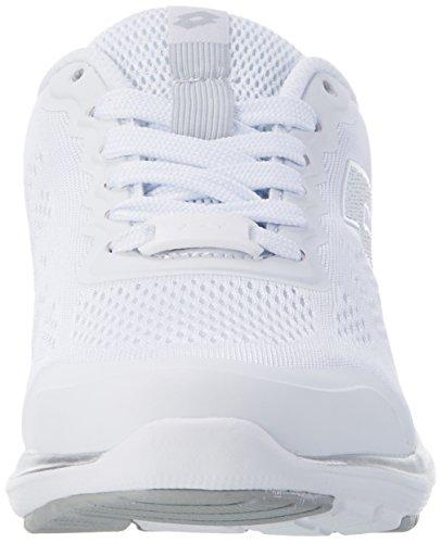 Lotto Ariane Vi Amf W, Zapatillas para Mujer Blanco (Wht/slv Mt)