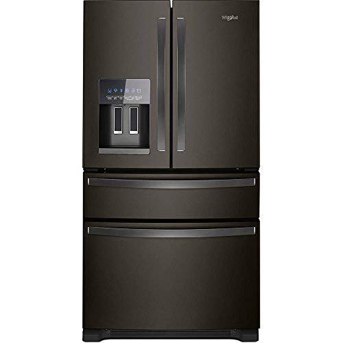 Whirlpool WRX735SDHV 25 Cu. Ft. Black Stainless 4 Door French Door Refrigerator