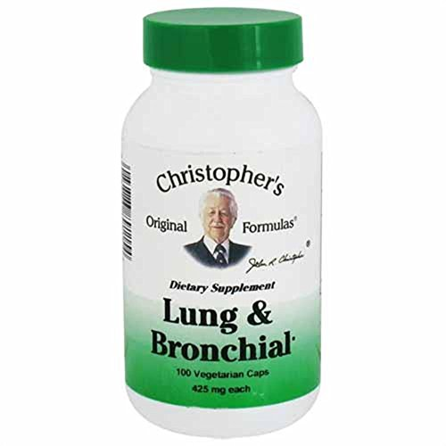- Lung & Bronchial Formula 100 CAP
