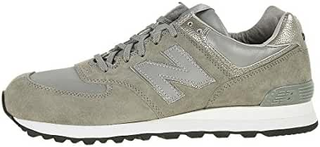 New Balance Men U574NB1C (silver / grey suede)
