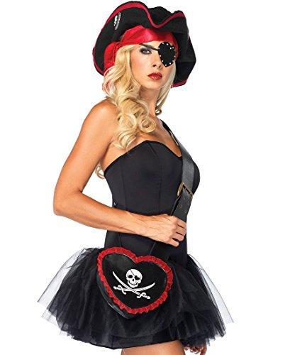 Leg Avenue 2621 Pirate Bandolier Purse - One Size - Black