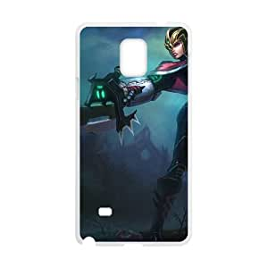 Samsung Galaxy Note 4 Cell Phone Case White League of Legends Crimson Elite Riven OIW0408431