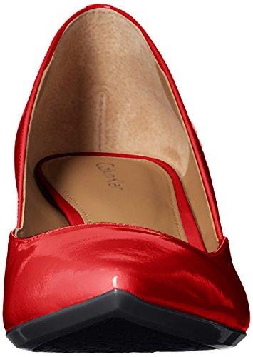 Calvin Klein Womens Patna Dress Pump, Lipstick Red, 8 M US