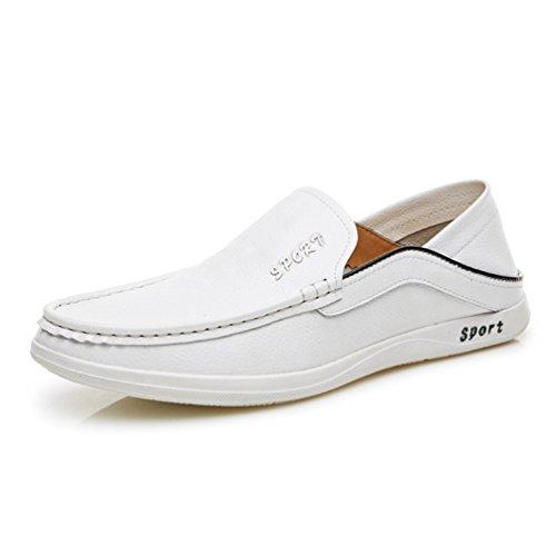 XIGUAFR Chaussure en Cuir Homme Printemps L