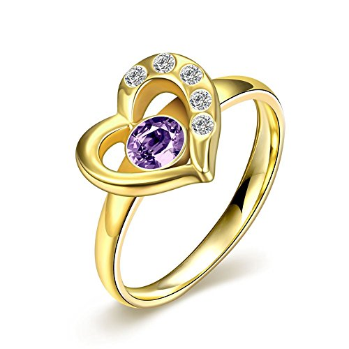 focus-jewel-newest-black-gold-heart-love-ring-with-amethyst-purple-cubic-zirconia-wedding-ring-size-