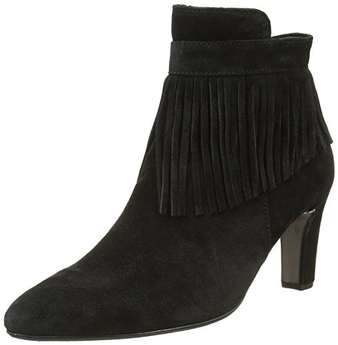 Gabor Shoes Fashion, Botines para Mujer Negro (Schwarz 17)