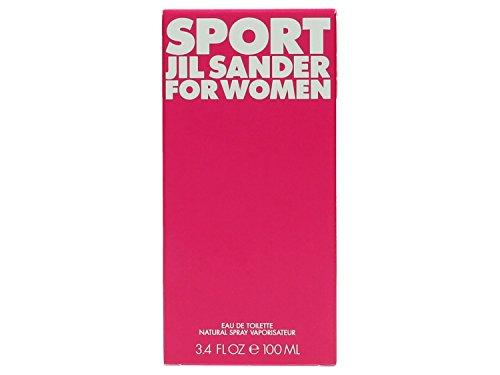 Jil Sander Sport For Women Eau de Toilette Spray, 3.4 Ounce
