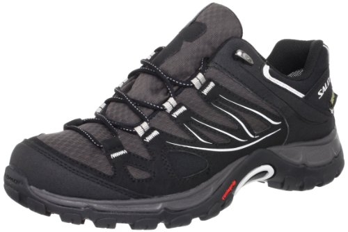 Black Grey Steel Women's GTX Ellipse Autobahn Salomon Hiking Black Shoe Xzvxw