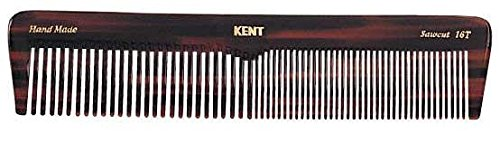 Kent The Hand Made Comb Coarse/Fine for Men, 7 Inch, 1 Ounce (Dressing Table Comb)
