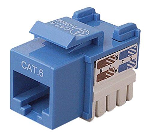 Belkin CAT6 Channel CERT.Keystone Jack (R6D026-AB6-BLU)