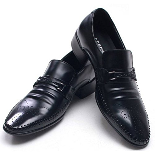 b7e32e7243df EpicStep Men s Classic Simple Genuine Leather Dress Formal Business Wingtip  Shoes Oxfords Loafers 50%OFF