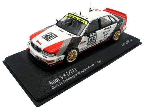 Frank Biela Audi V8 Quattro DTM Champion 1991 1:43 Minichamps