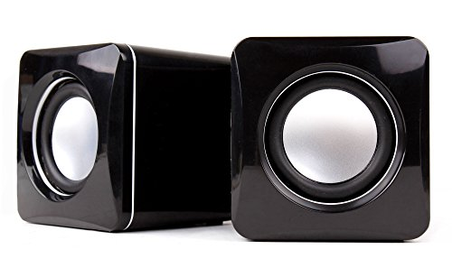 DURAGADGET Small & Portable USB Powered Tablet Speakers with Volume Dial for Archos CDIP Facilotab/Archos CDIP Facioltab XL