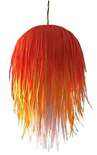 Designers Collection Paper Diwali Lanterns  Orange, Yellow, White