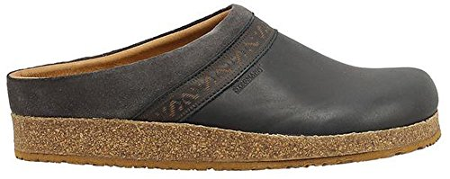 Image of Stegmann Women's Leather Linz Clog With Cork Sole