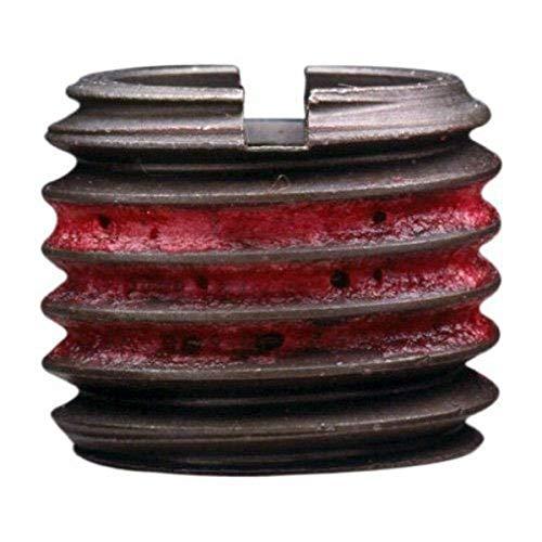 Inserto con rosca externa EZ Lok acero al carbono C12L14 cumple con AISI 12L14métrico roscas internas632 roscas externas M6x10 longitud de 648 mm fabricado en EE UU Paquete de 5