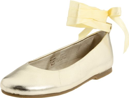 Pazitos Polyurethane Swan Boy Friend,Gold Metallic,31 EU (12.5 M US Little (Gold Metallic Kid Footwear)
