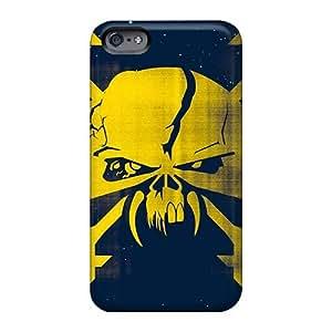 Iphone 6plus Gyb14980yAKu Customized Beautiful Iron Maiden Band Skin Bumper Hard Phone Covers -InesWeldon