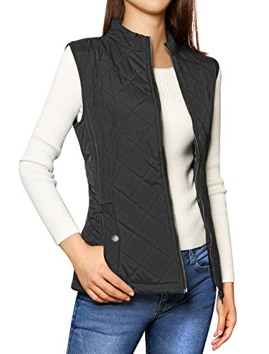 Allegra Womens Collar Quilted Padded product image