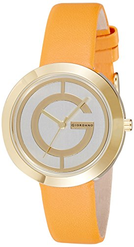 Giordano Analog Gold Dial Women's Watch – A2042-03