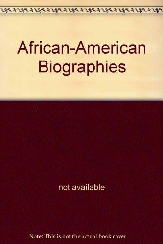 Creating America: African American Biographies