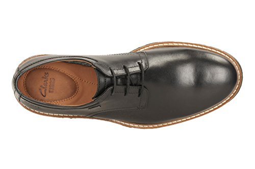 Clarks Vestir Hombre Newkirk Go Gtx Piel Zapatos De Standard Passform Tamaño 44½