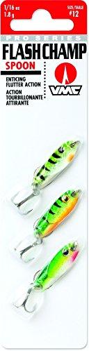 (VMC FCS116L3 Flash Champ Spoon Kit Fishing Jig)