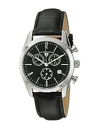 Swiss Legend Men's 22038C-01 Peninsula Analog Display Swiss Quartz Black Watch