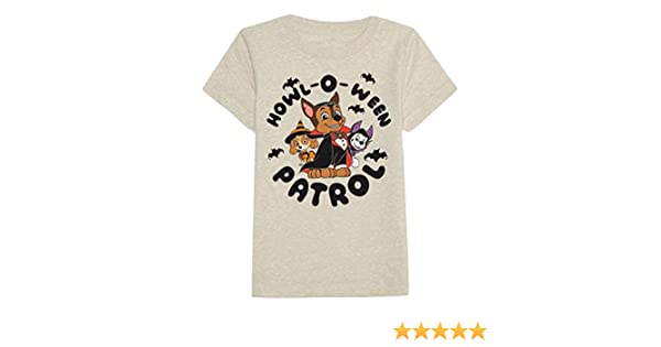 "Boys Paw Patrol Halloween Shirt NEW Size 2T or 3T /""Howl-O-Ween Patrol/"""