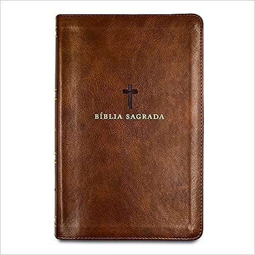 Bíblia Sagrada Acf, Couro Soft, Marrom, Letra Grande, Leitura Perfeita
