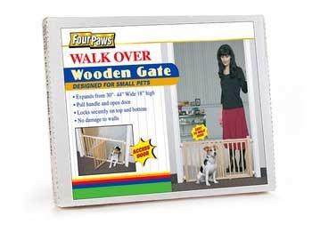 Vertical Wood Gate W/D -
